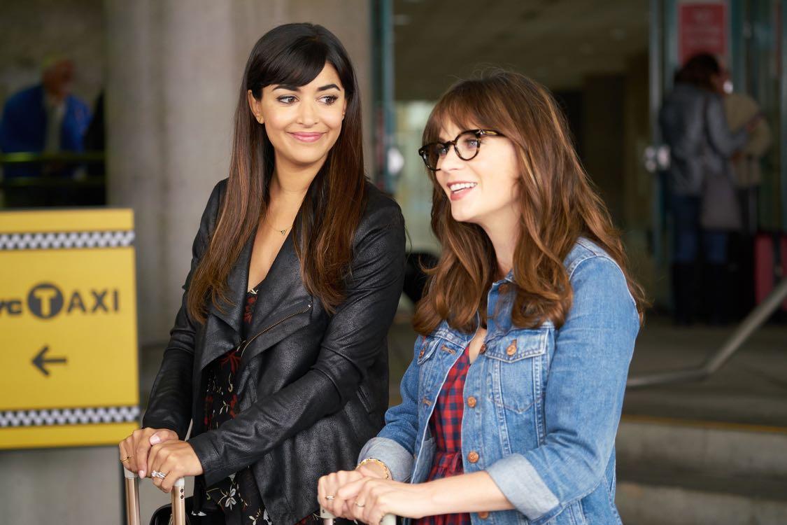 New Girl: Hannah Simone e Zooey Deschanel in Homecoming