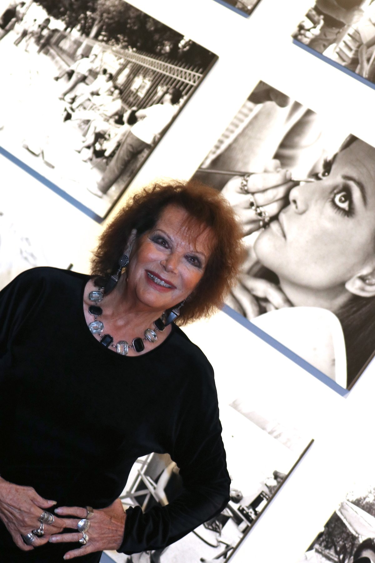 Roma 2016: uno scatto di Claudia Cardinale alla mostra di scatti inediti de Il giorno della civetta