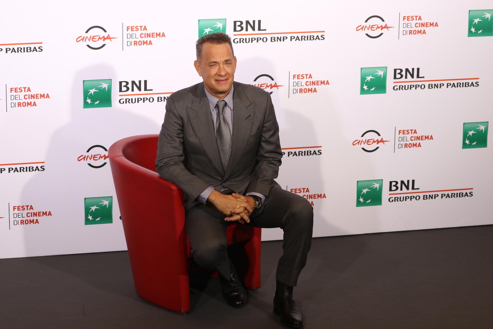 Roma 2016: Tom Hanks in posa al photocall