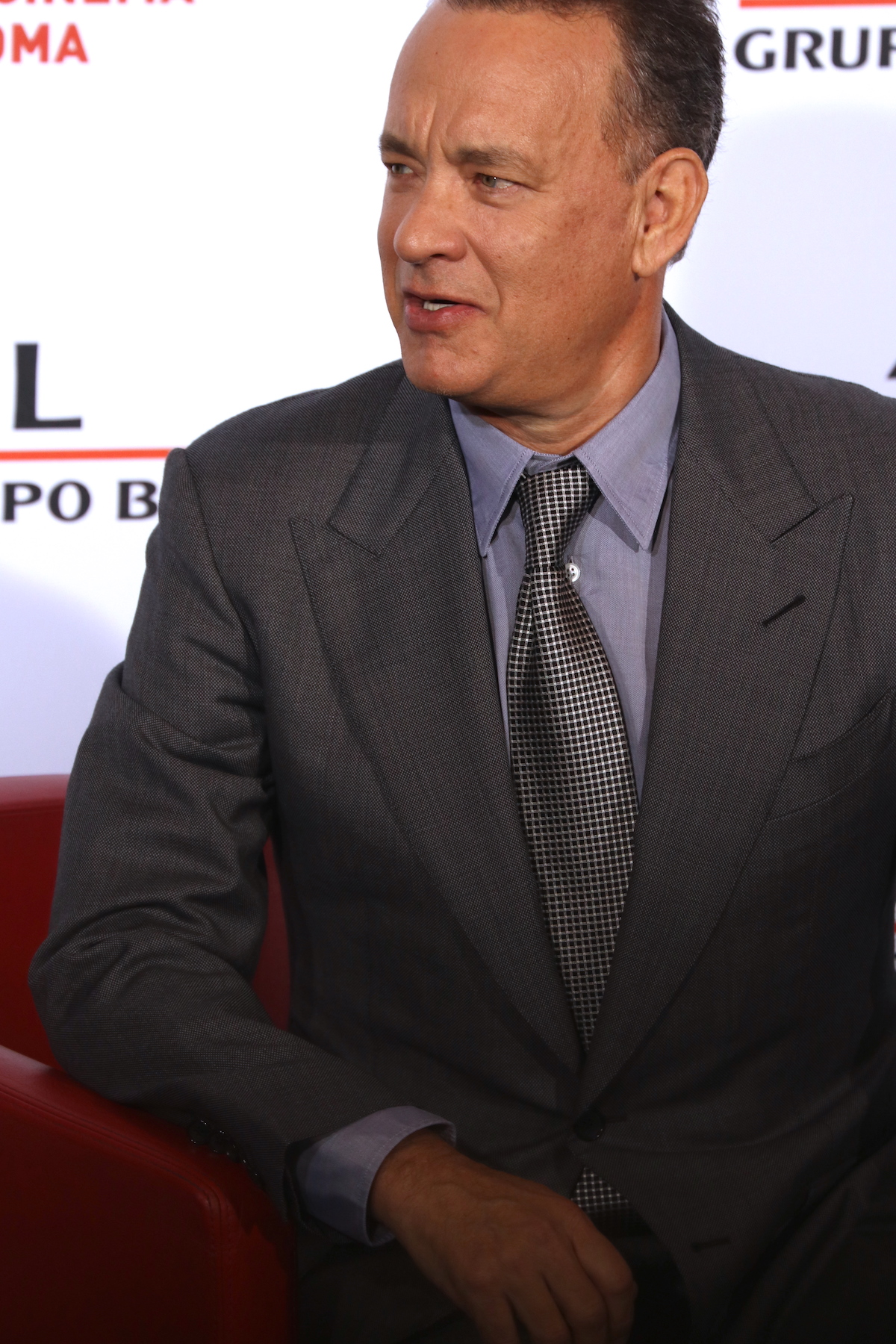 Roma 2016: Tom Hanks durante il photocall