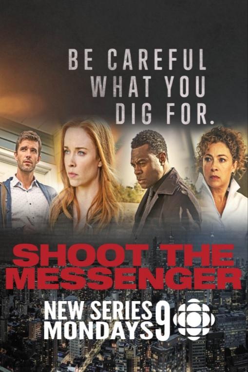 Shoot the Messenger: la locandina della serie