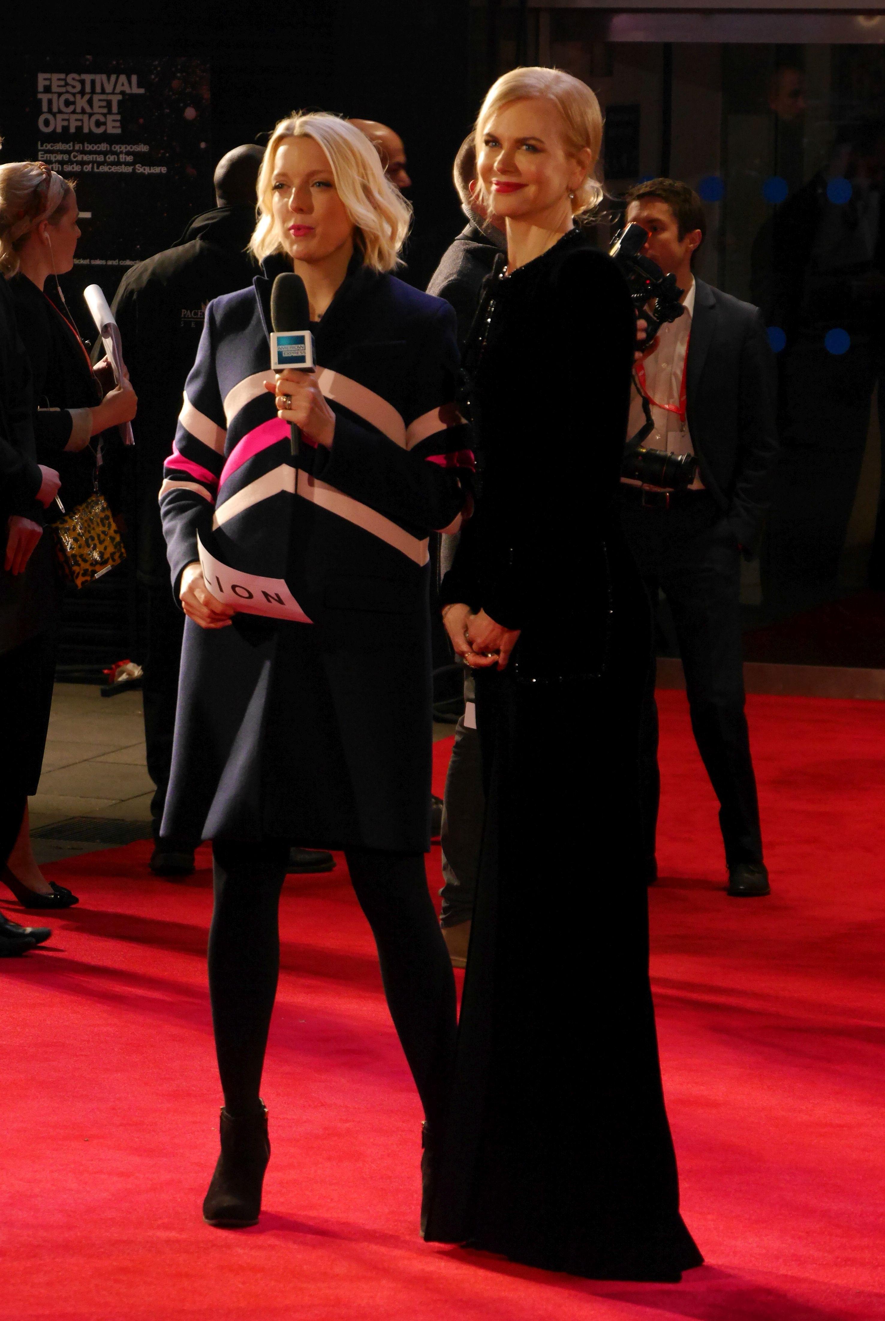 Nicole Kidman sul red carpet del BFI London Film Festival