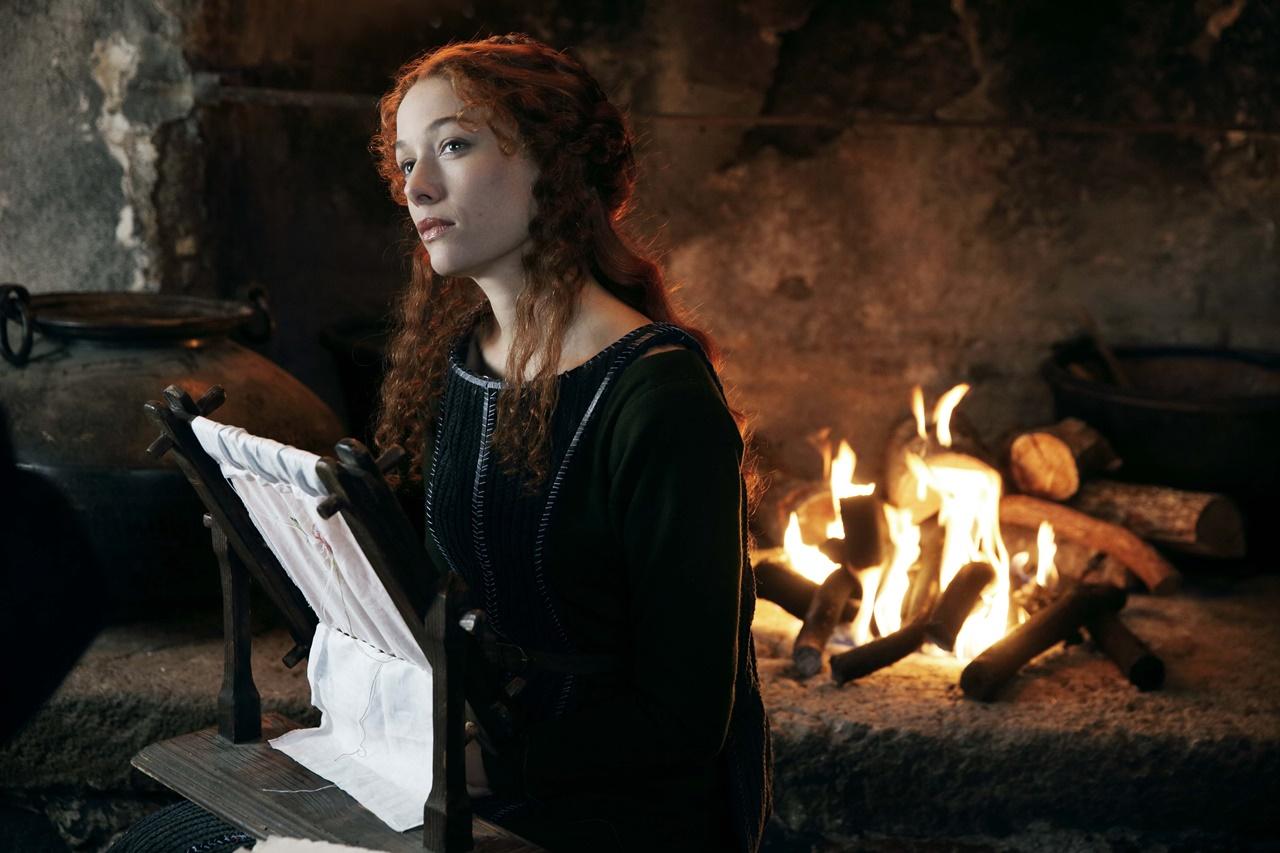 Medici, Masters of Florence: Sarah Felberbaum in una scena