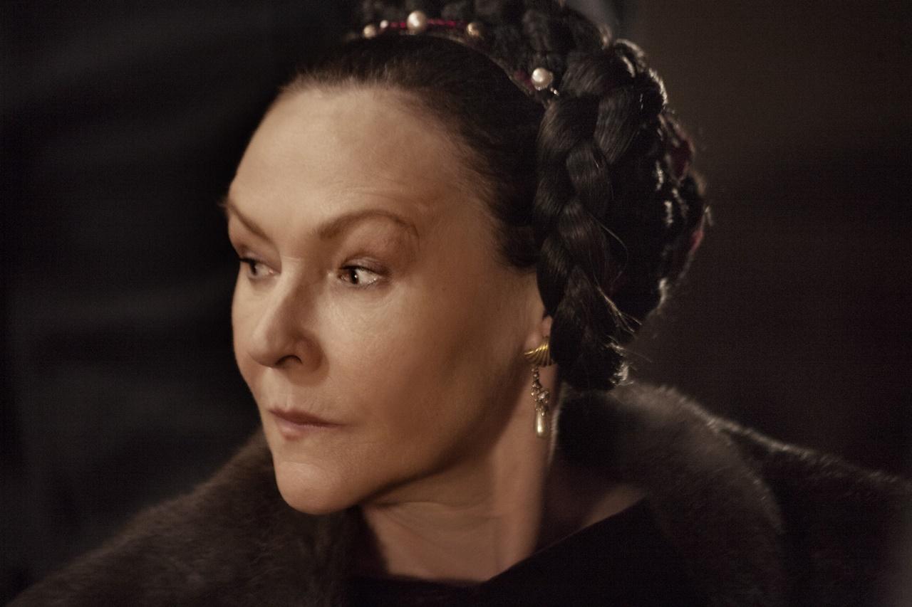 Medici, Masters of Florence: una foto dell'attrice Frances Barber