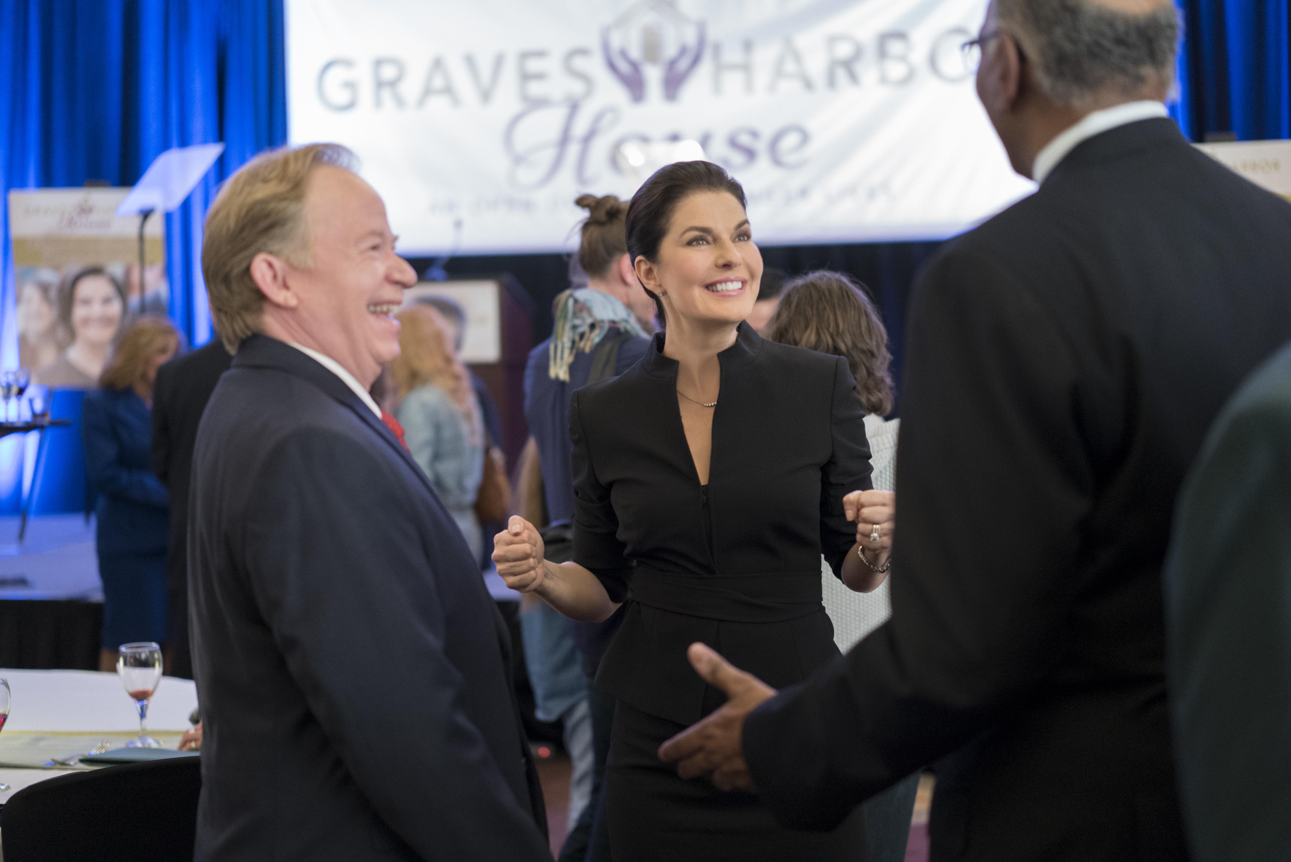 Graves: Sela Ward in una scena della prima stagione