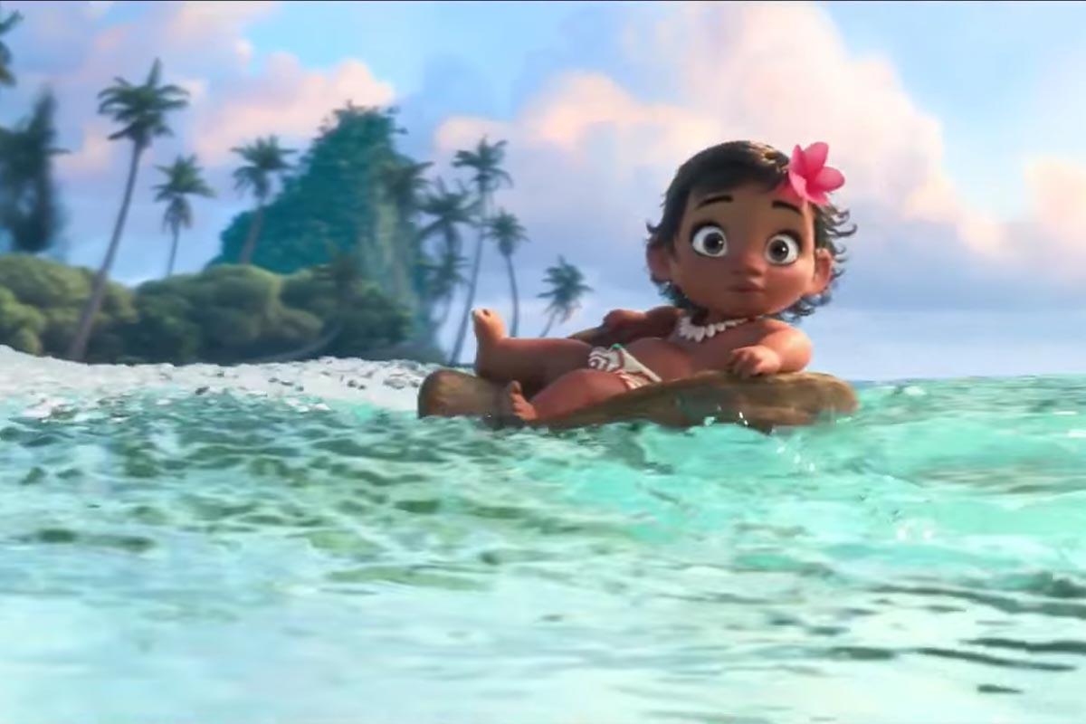 Oceania: una scena del film Disney