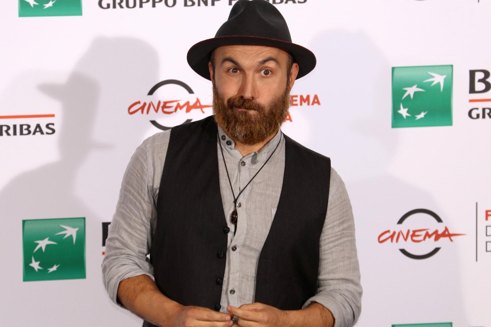 Roma 2016: il regista Maccio Capatonda al photocall di Mariottide