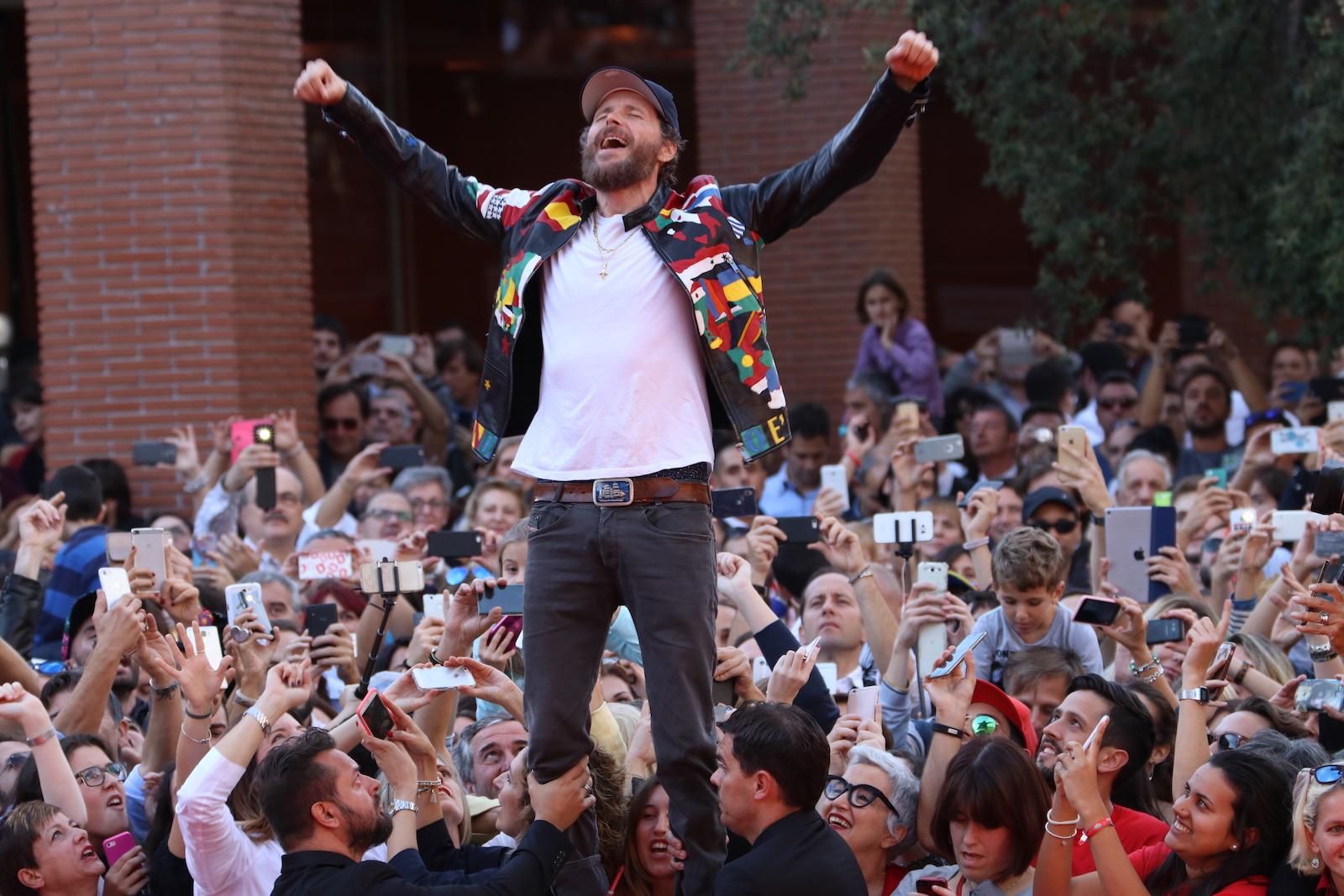 Roma 2016: uno scatto di Jovanotti sul red carpet