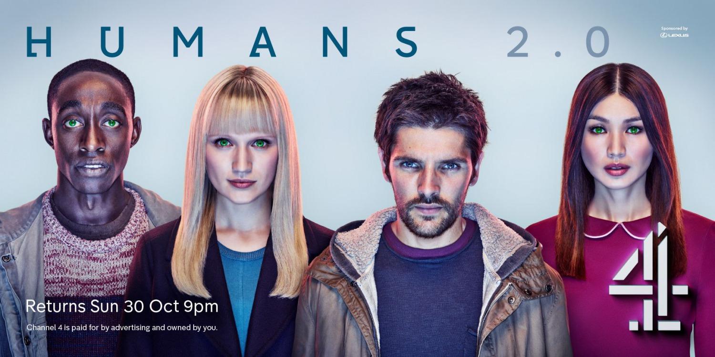Humans: artwork per la seconda stagione della serie