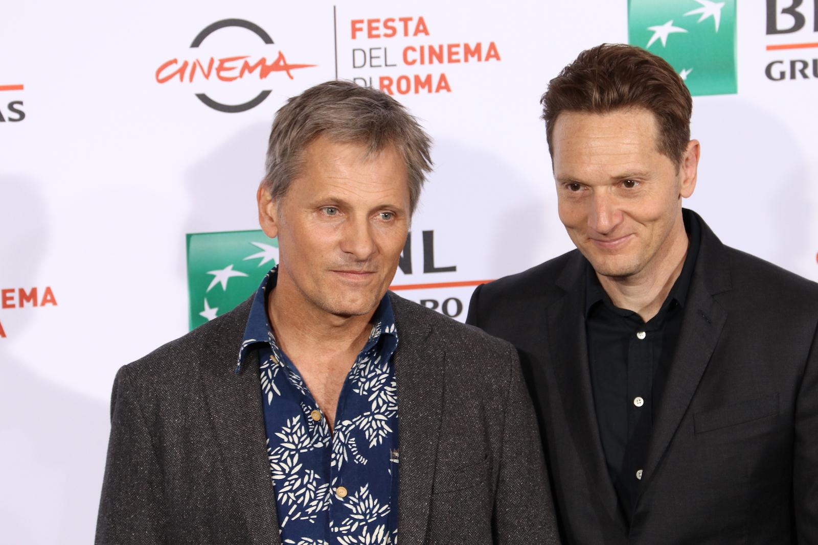 Roma 2016: Viggo Mortensen e Matt Ross al photocall di Captain Fantastic