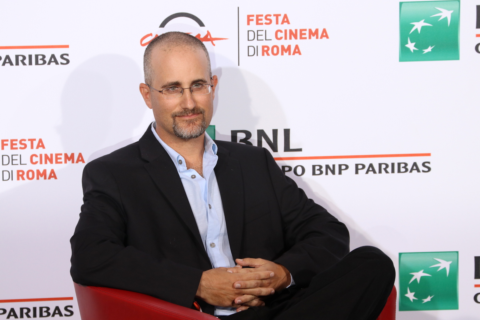 Roma 2016: Yaniv Berman posa al photocall di Land of the Little People
