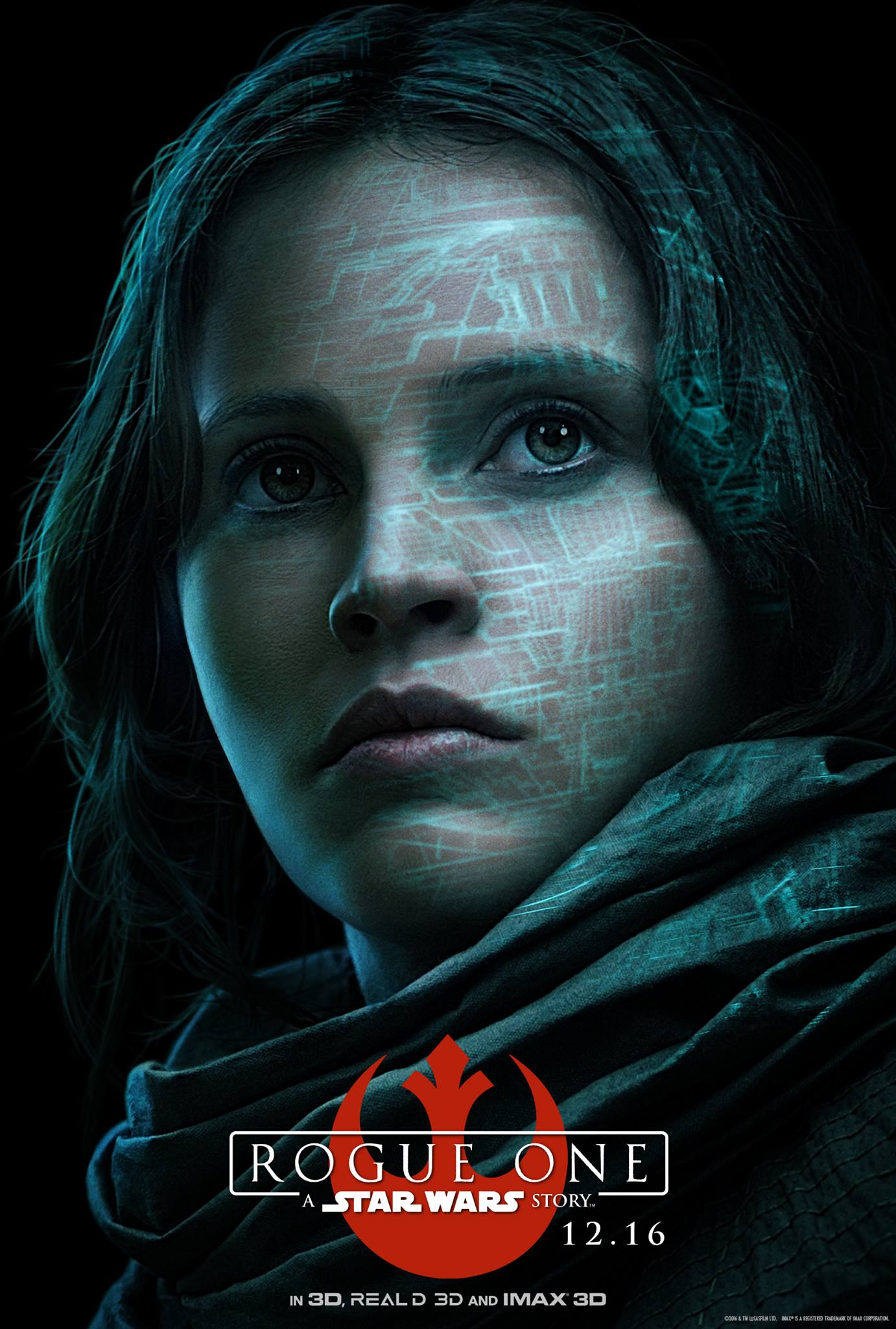 Rogue One: il character poster di Felicity Jones