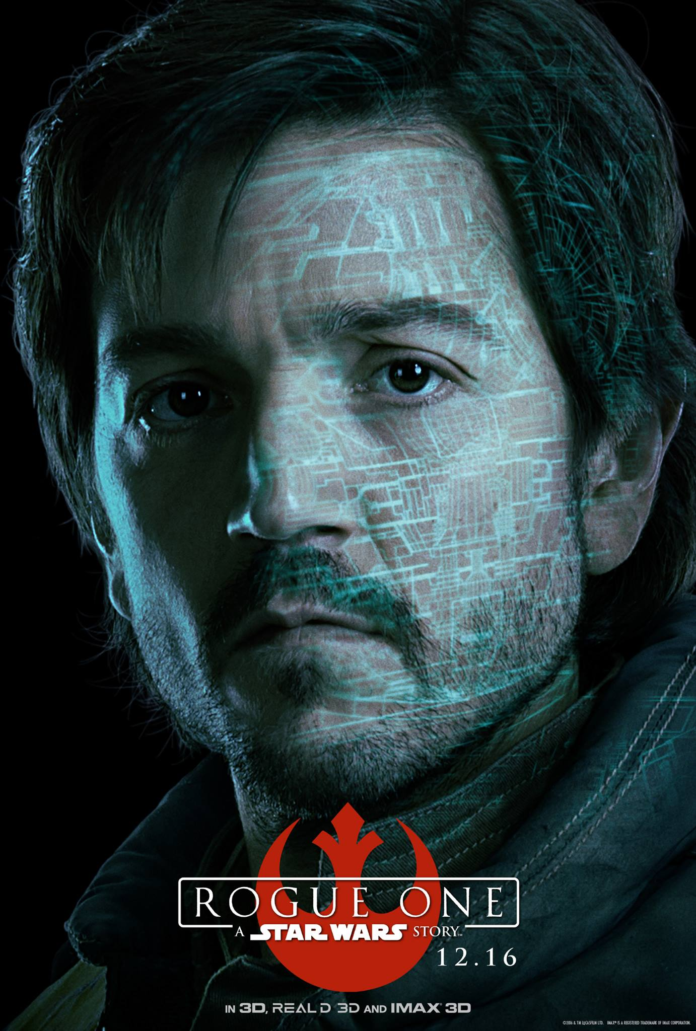 Rogue One: il character poster di Diego Luna