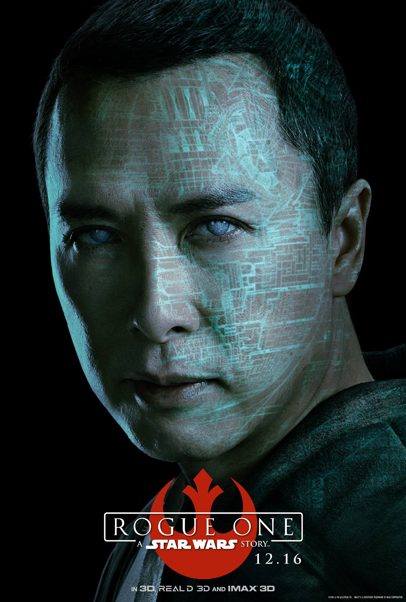 Rogue One: il character poster di Donnie Yen