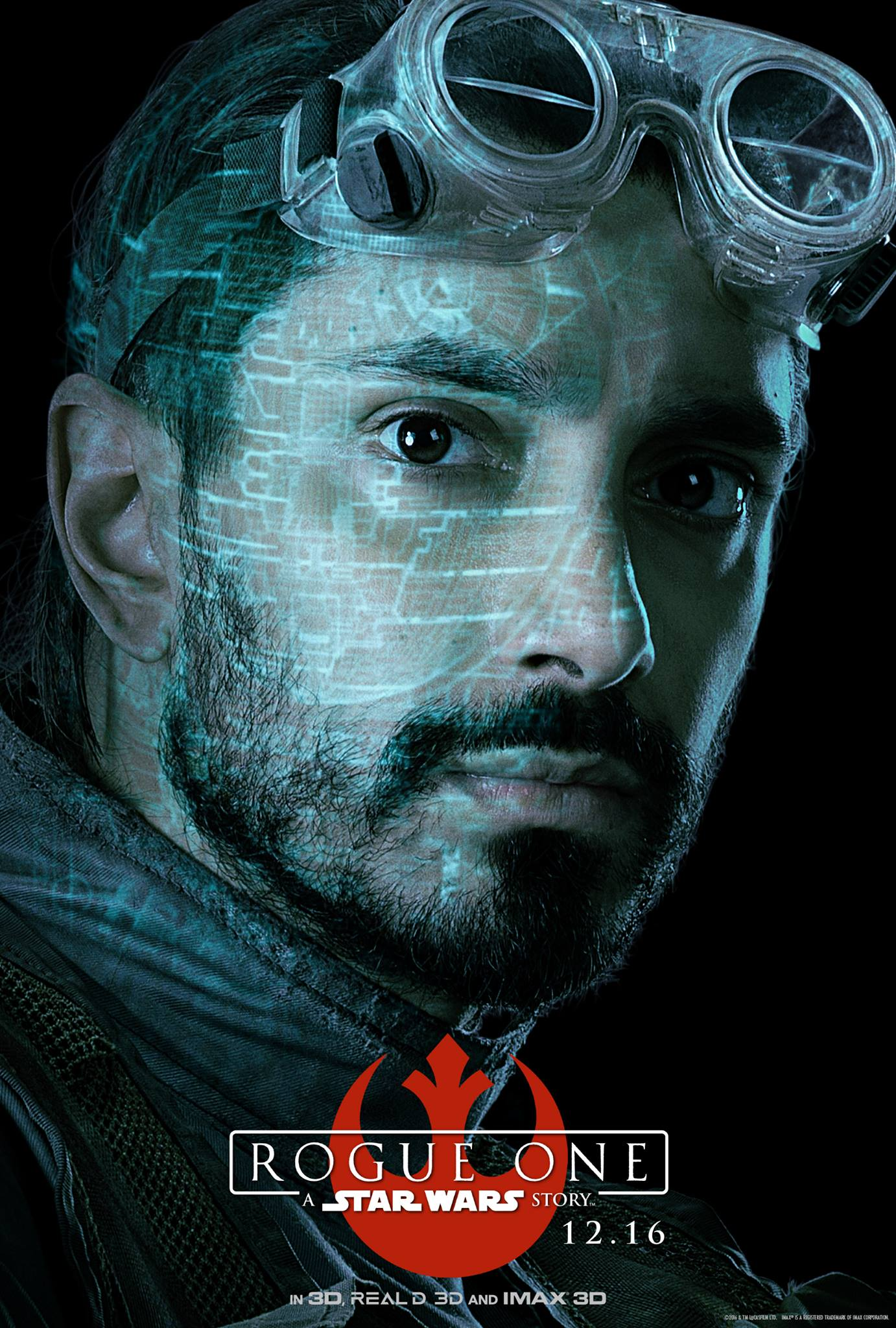 Rogue One: il character poster di Riz Ahmed