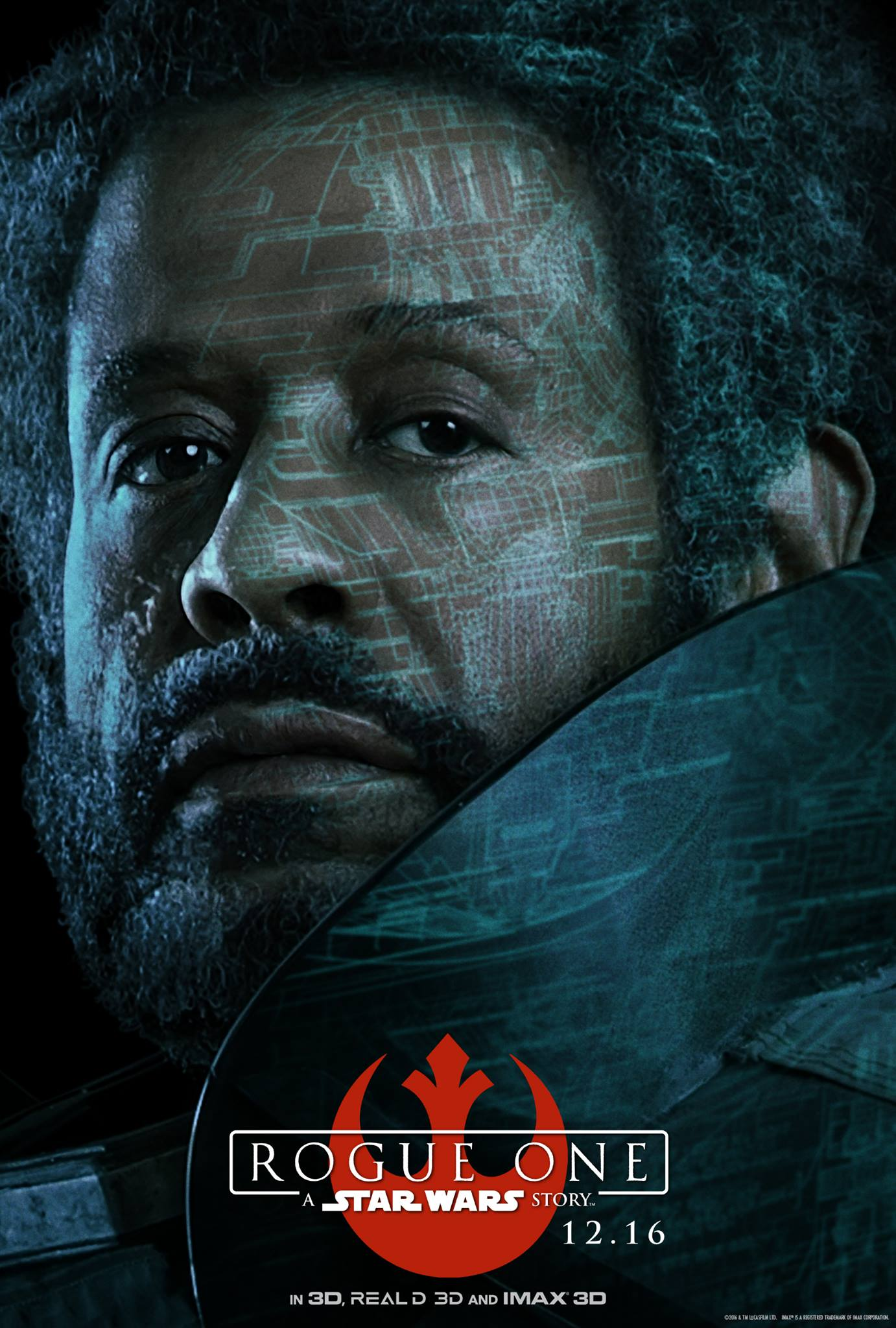 Rogue One: il character poster di Forest Whitaker