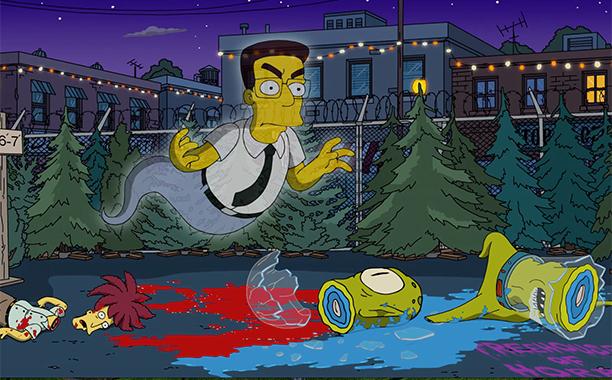 I Simpson: il ritorno di Frank Grimes in Treehouse of Horror XXVII
