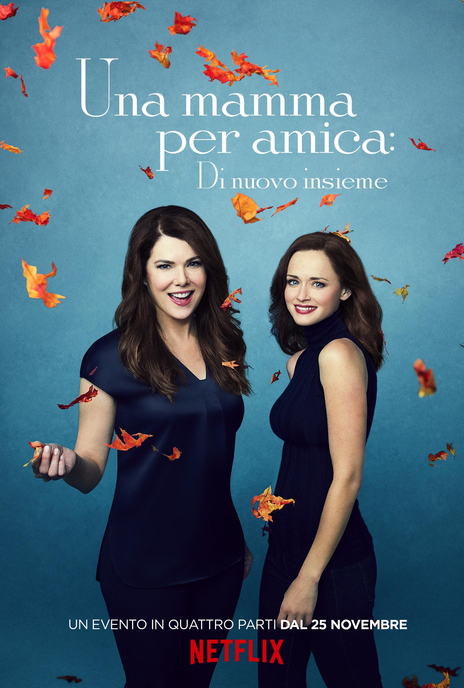 Una mamma per amica: di nuovo insieme - Poster dell'autunno