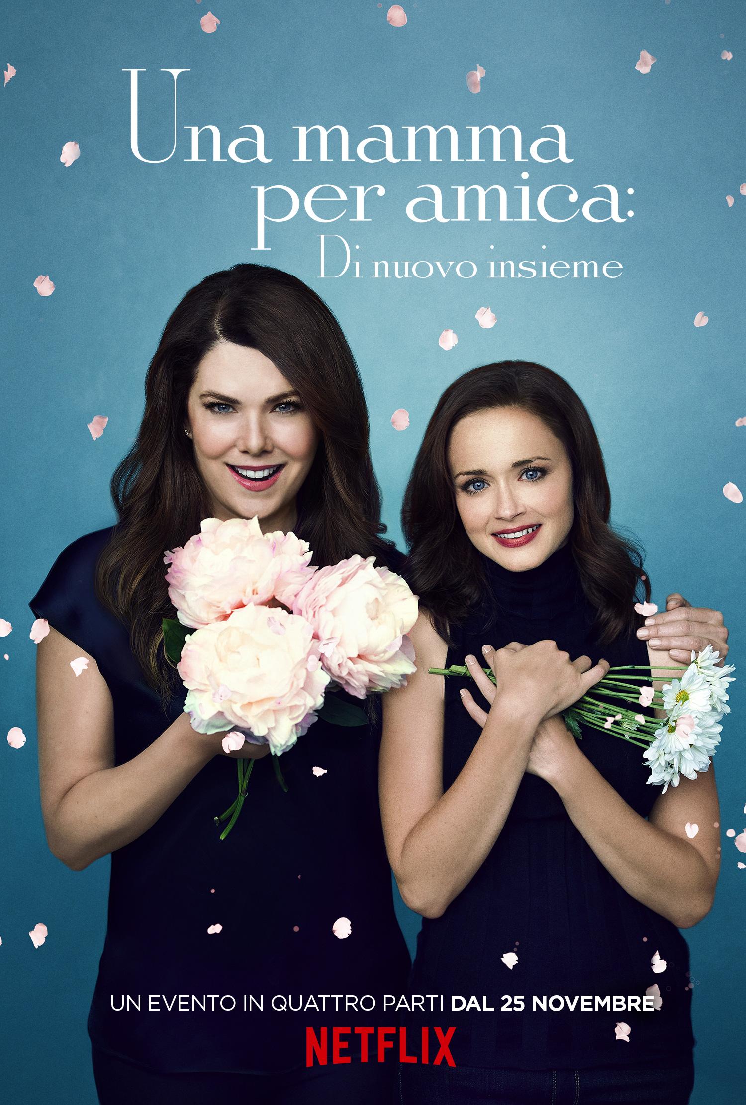Una mamma per amica: di nuovo insieme - Poster della primavera