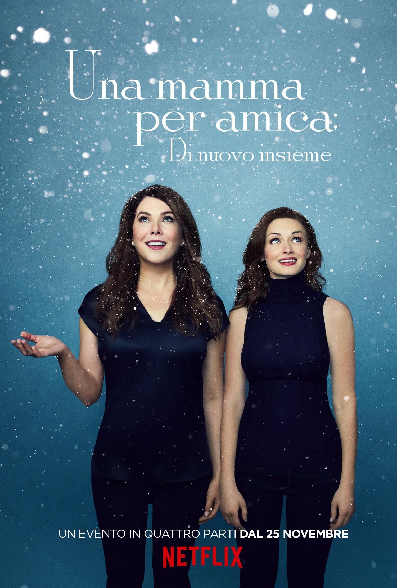 Una mamma per amica: di nuovo insieme - Poster dell'inverno