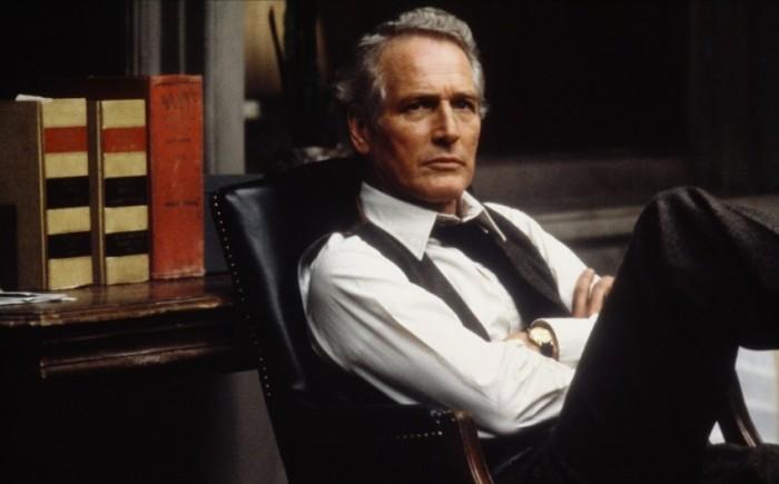 Paul Newman in una scena de Il verdetto