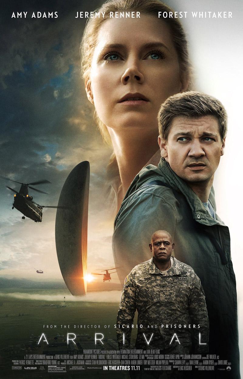 Arrival: un poster inedito del film