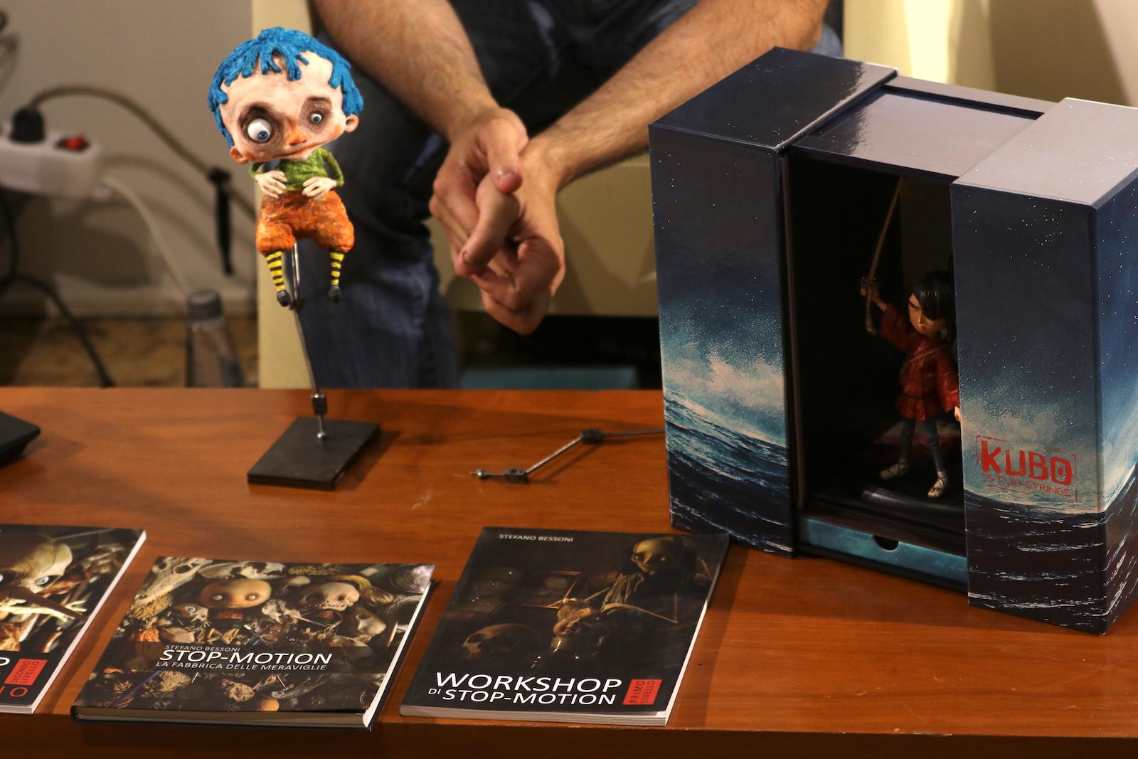 Roma 2016: gadget al workshop dedicato all'animazione stop motion
