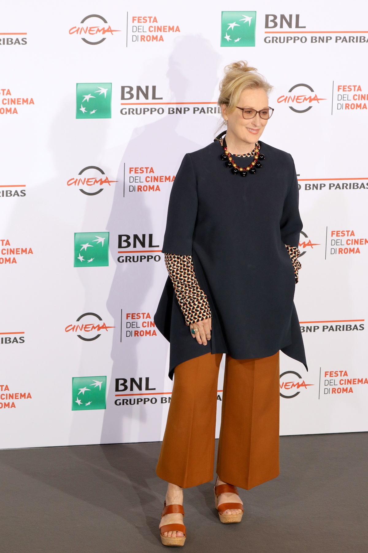 Roma 2016: Meryl Streep al photocall di Florence Foster Jenkins