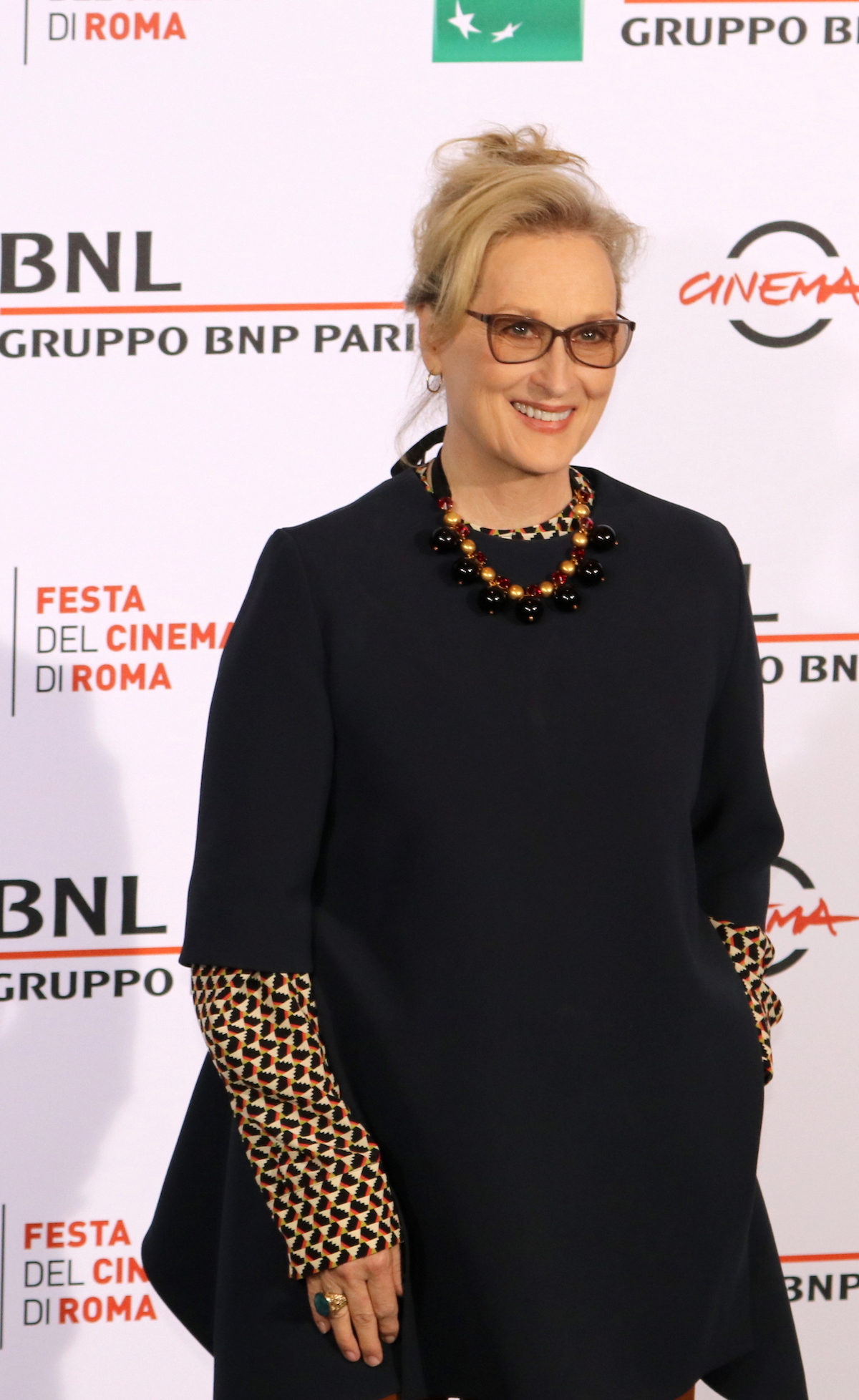 Roma 2016: Meryl Streep posa al photocall di Florence Foster Jenkins