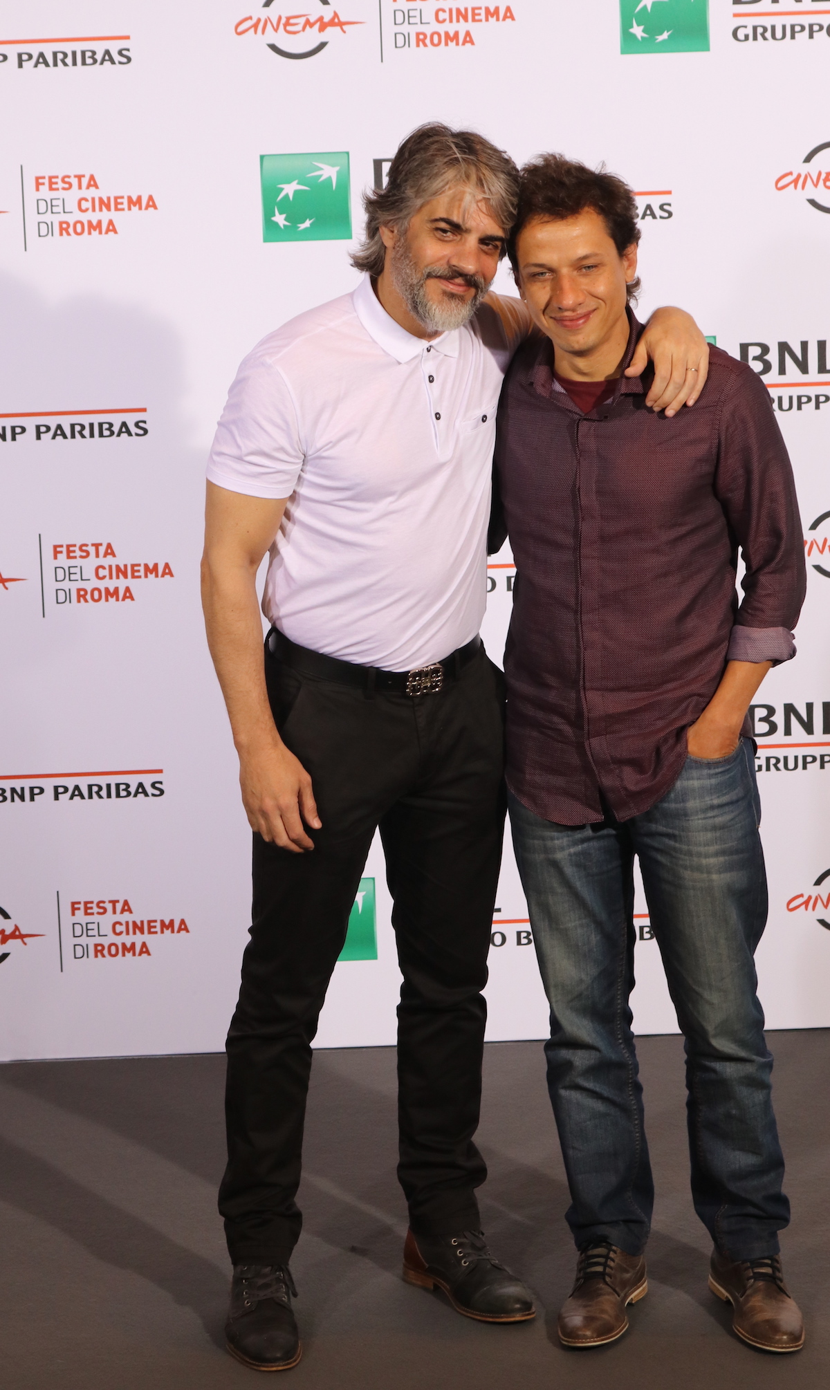 Roma 2016: Pablo Echarri, Rodrigo Grande al photocall di At the End of the Tunnel