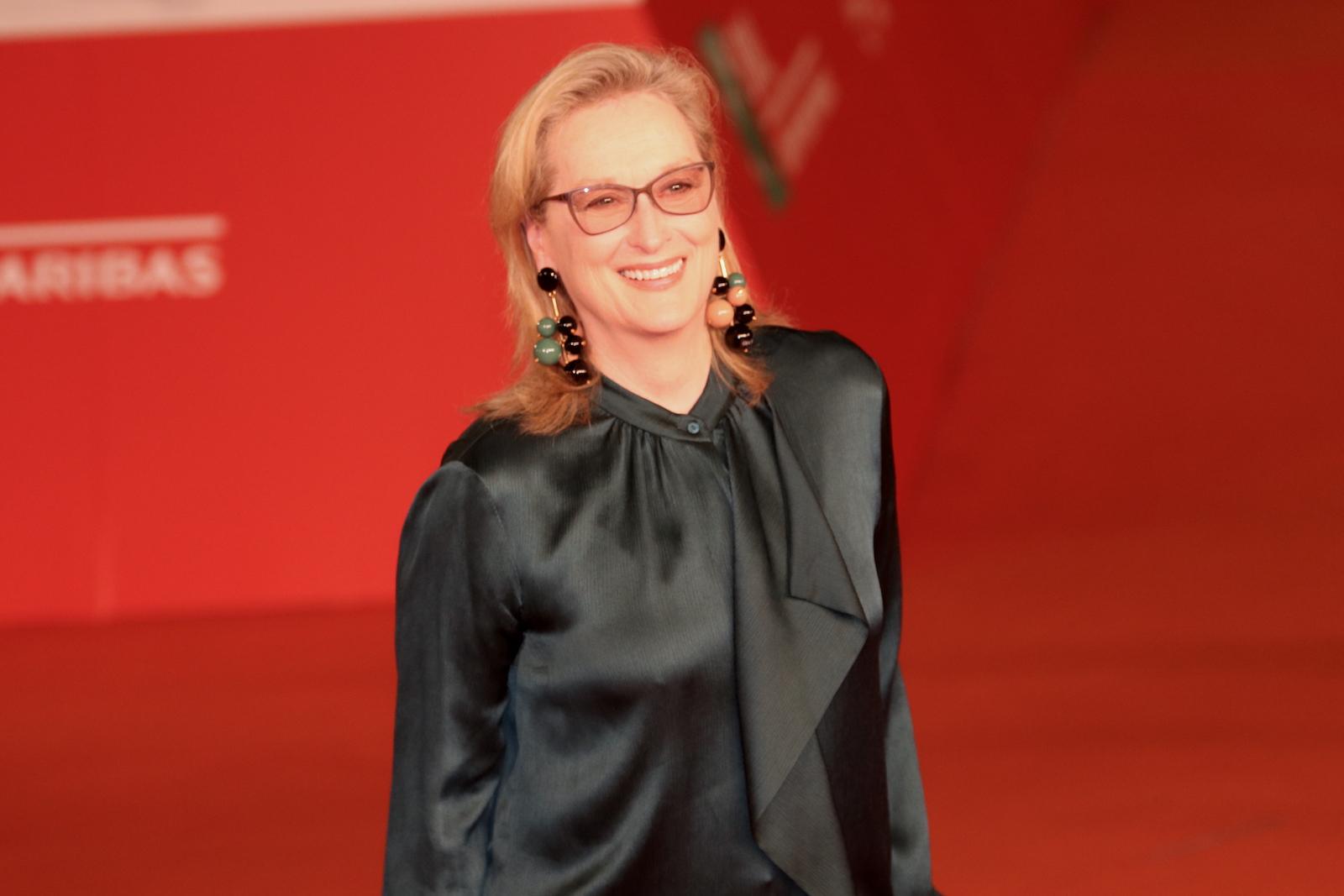 Roma 2016: Meryl Streep sul red carpet di Florence Foster Jenkins