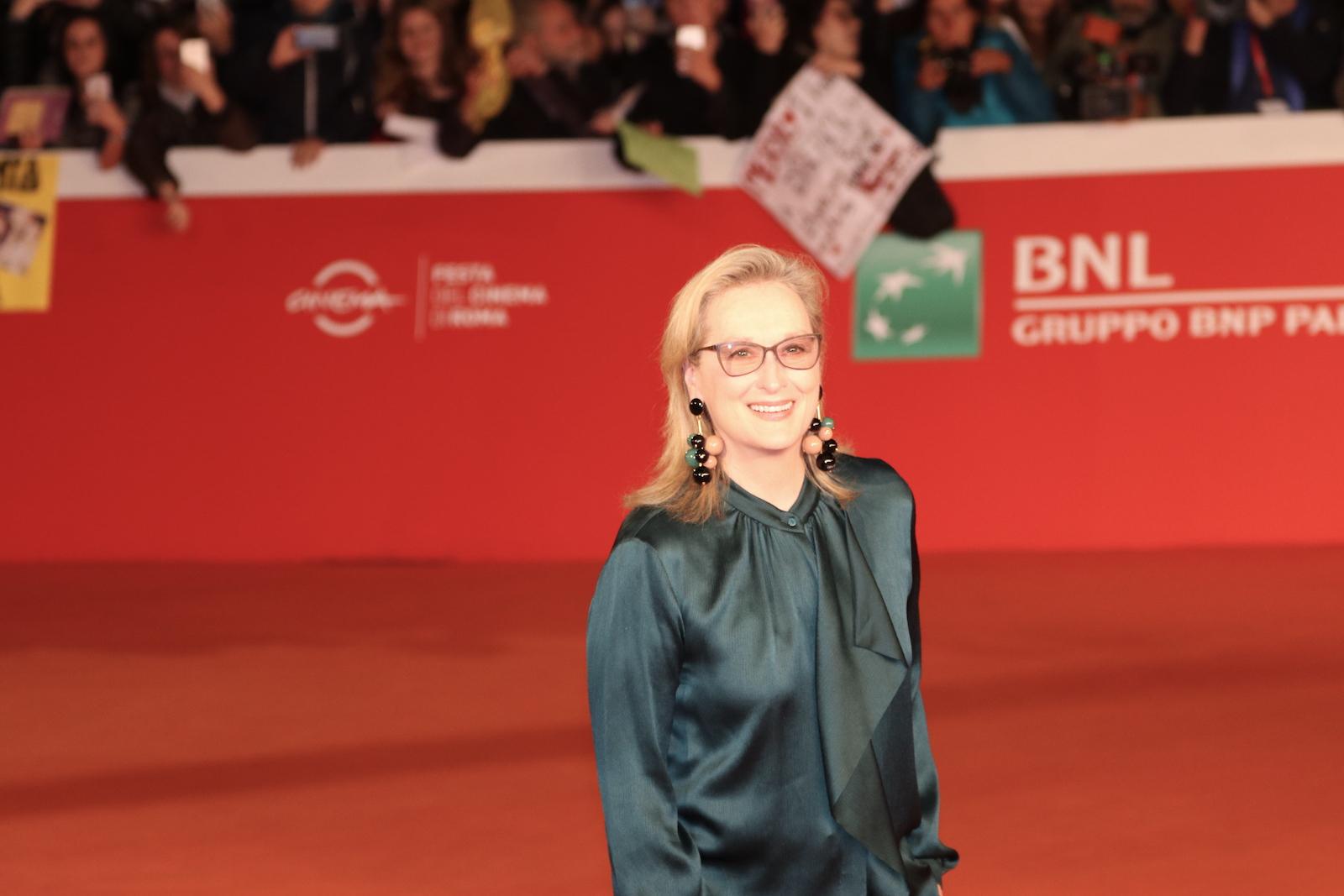 Roma 2016: una foto di Meryl Streep sul red carpet di Florence Foster Jenkins