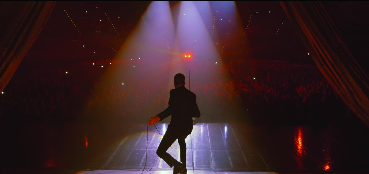 Michael Bublé - Tour Stop 148: un'immagine tratta dal documentario musicale