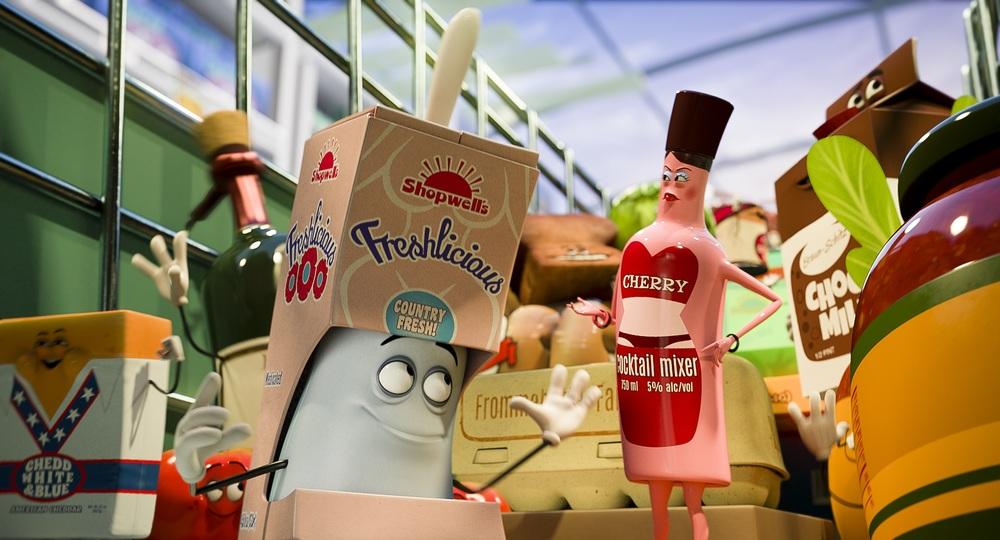 Sausage Party - Vita segreta di una salsiccia: un'immagine tratta dal film d'animazione