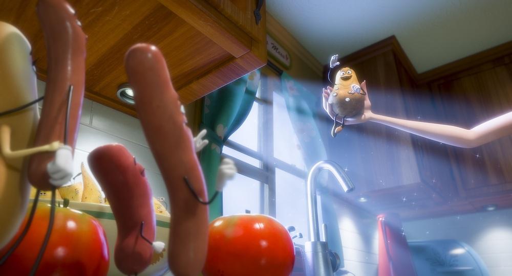Sausage Party - Vita segreta di una salsiccia: un'immagine tratta dal film animato
