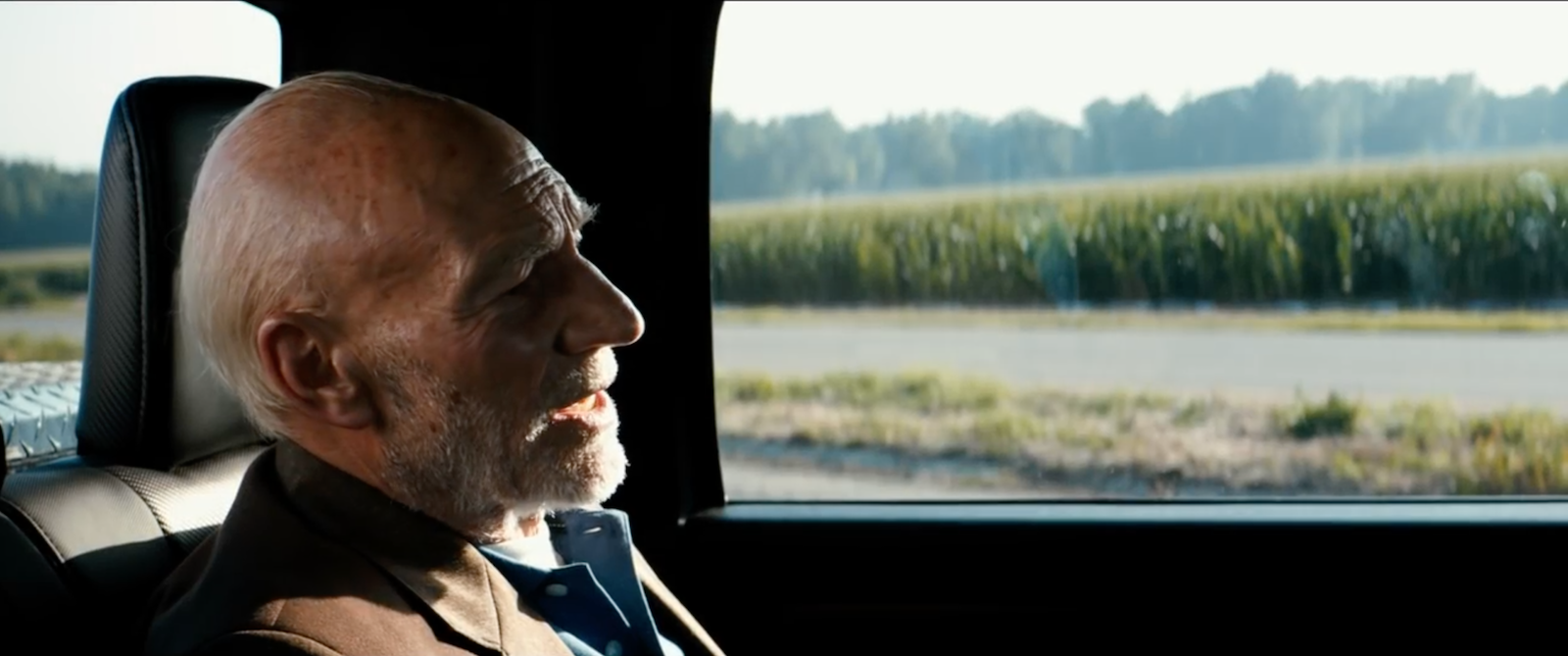 Logan: Patrick Stewart nel primo trailer