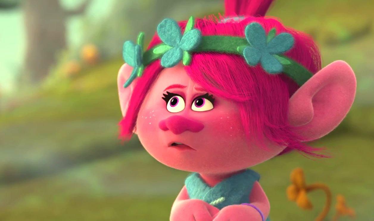 Trolls: una scena del film animato