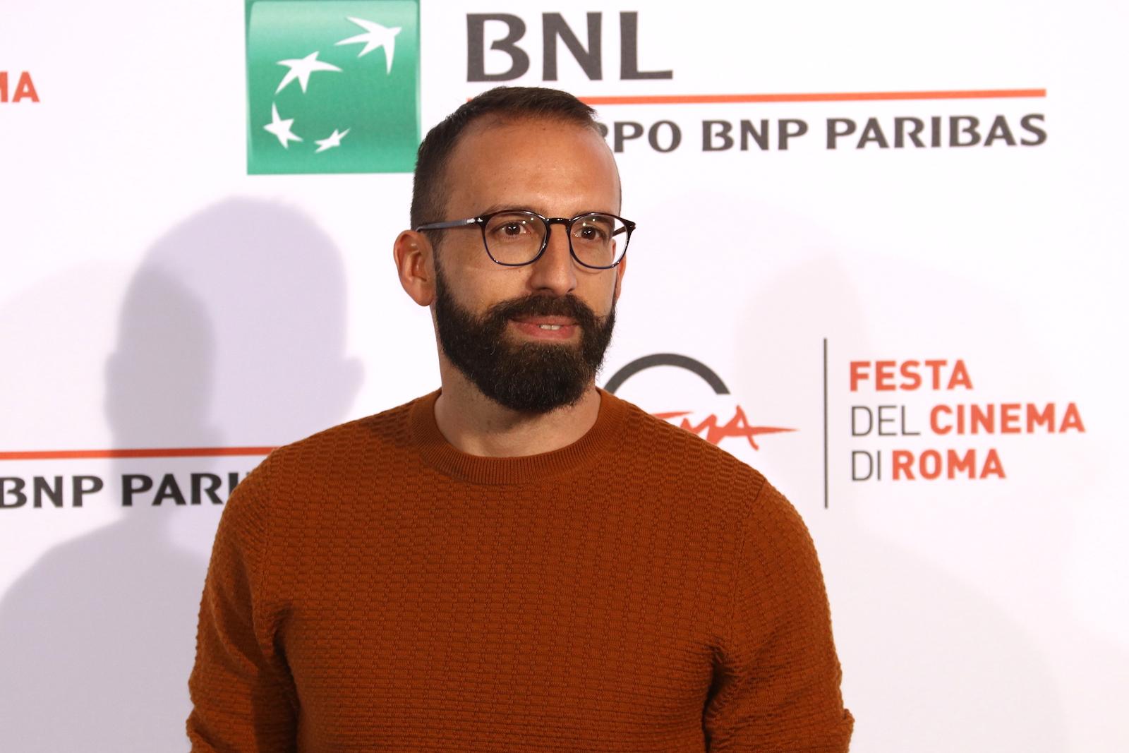 Roma 2016: il regista Mattia Colombo al photocall di Ritmo sbilenco