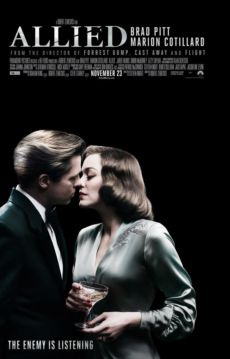 Allied: un nuovo poster del film
