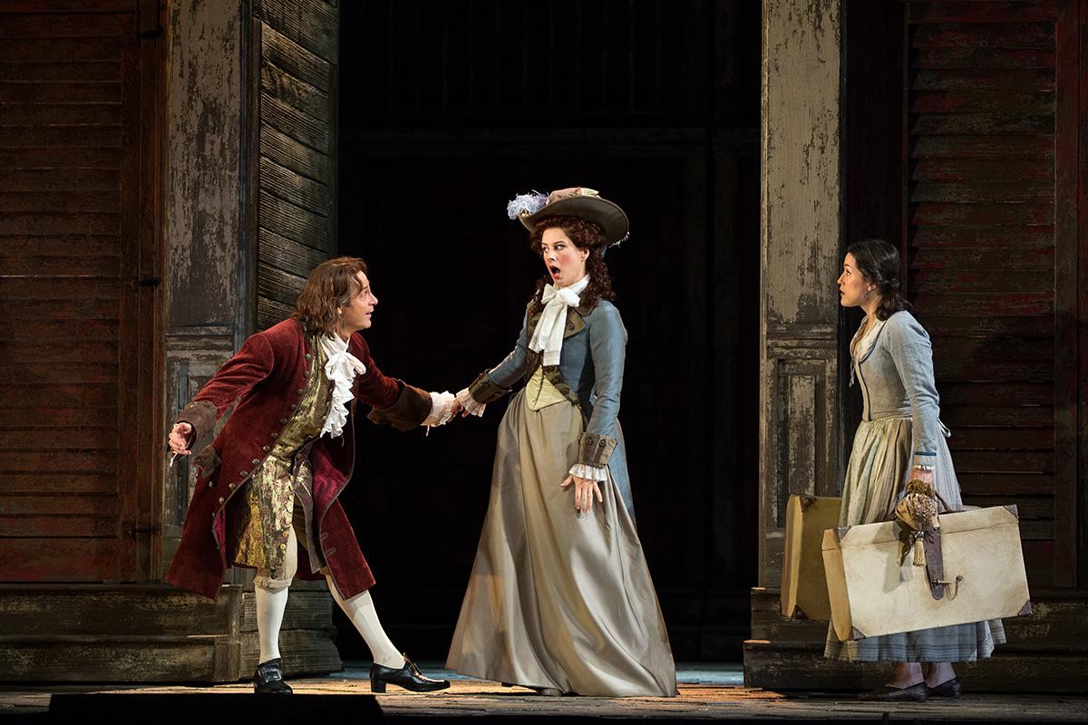 The Metropolitan Opera di New York: Don Giovanni - Un momento dell'opera teatrale diretta da Michael Grandage