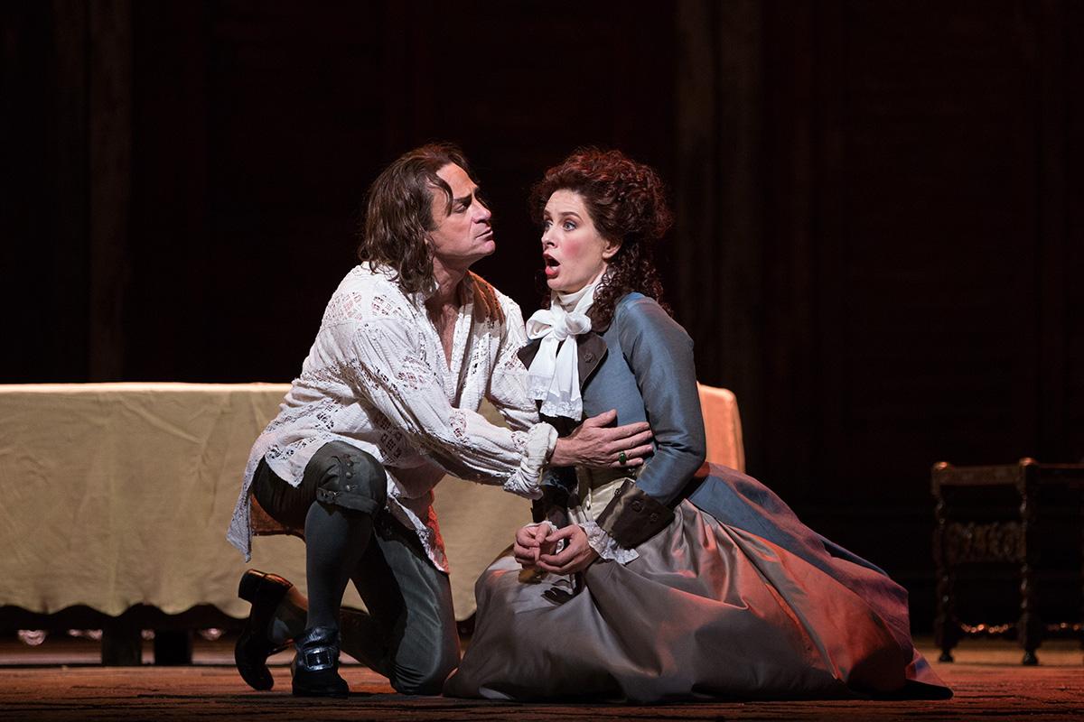 The Metropolitan Opera di New York: Don Giovanni - Un'immagine tratta dall'opera teatrale
