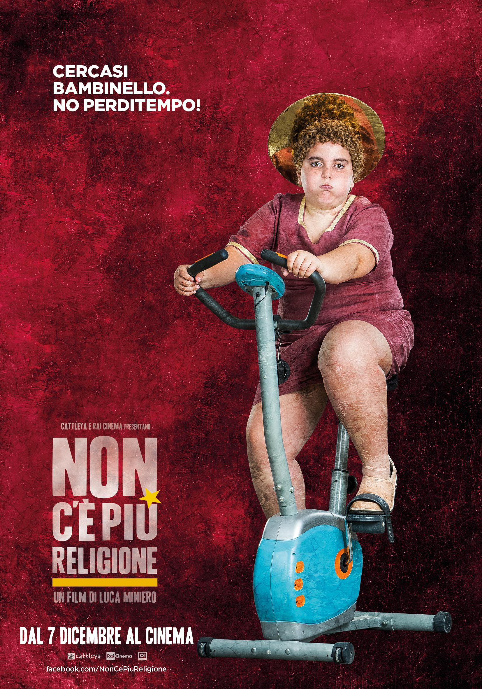Non c'è più religione - un divertente poster del film