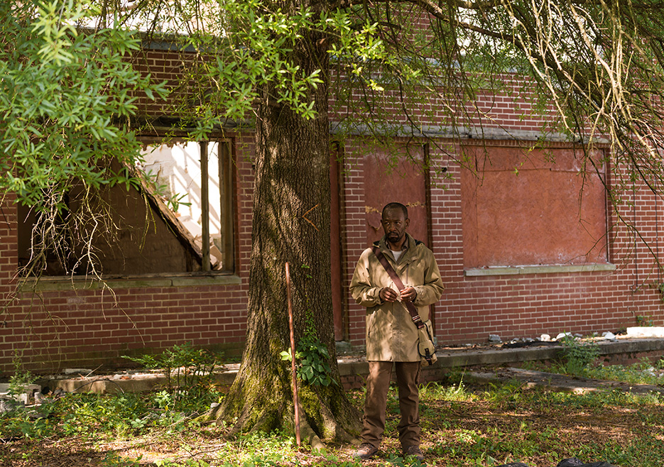 The Walking Dead: Lennie James in The Well