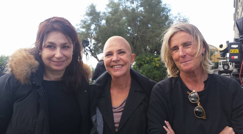 Romanzo famigliare: Francesca Archibugi con Pamela Villoresi e la direttrice della fotografia Kika Ungaro