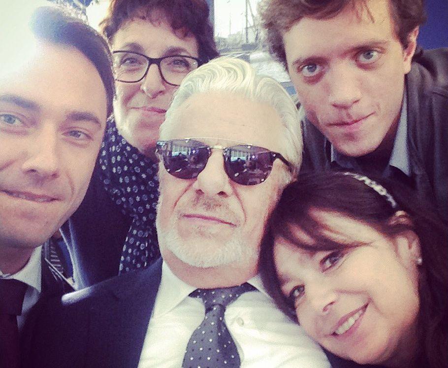 Romanzo famigliare: Francesca Archibugi sul set con Giancarlo Giannini e Marius Bizau