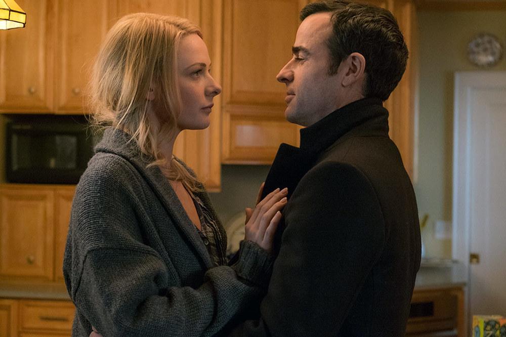 La ragazza del treno: Rebecca Ferguson e Justin Theroux in una scena del film