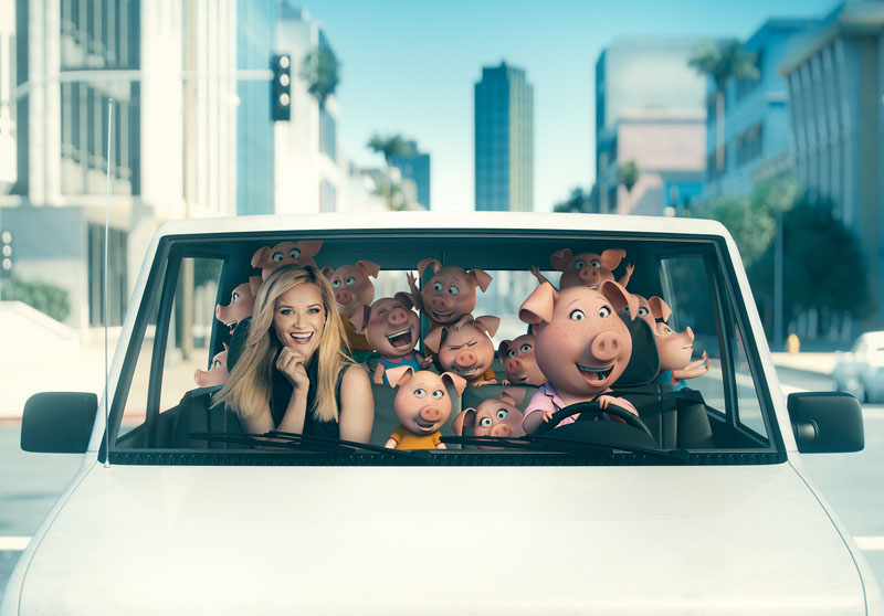 Sing: Reese Witherspoon e Rosita