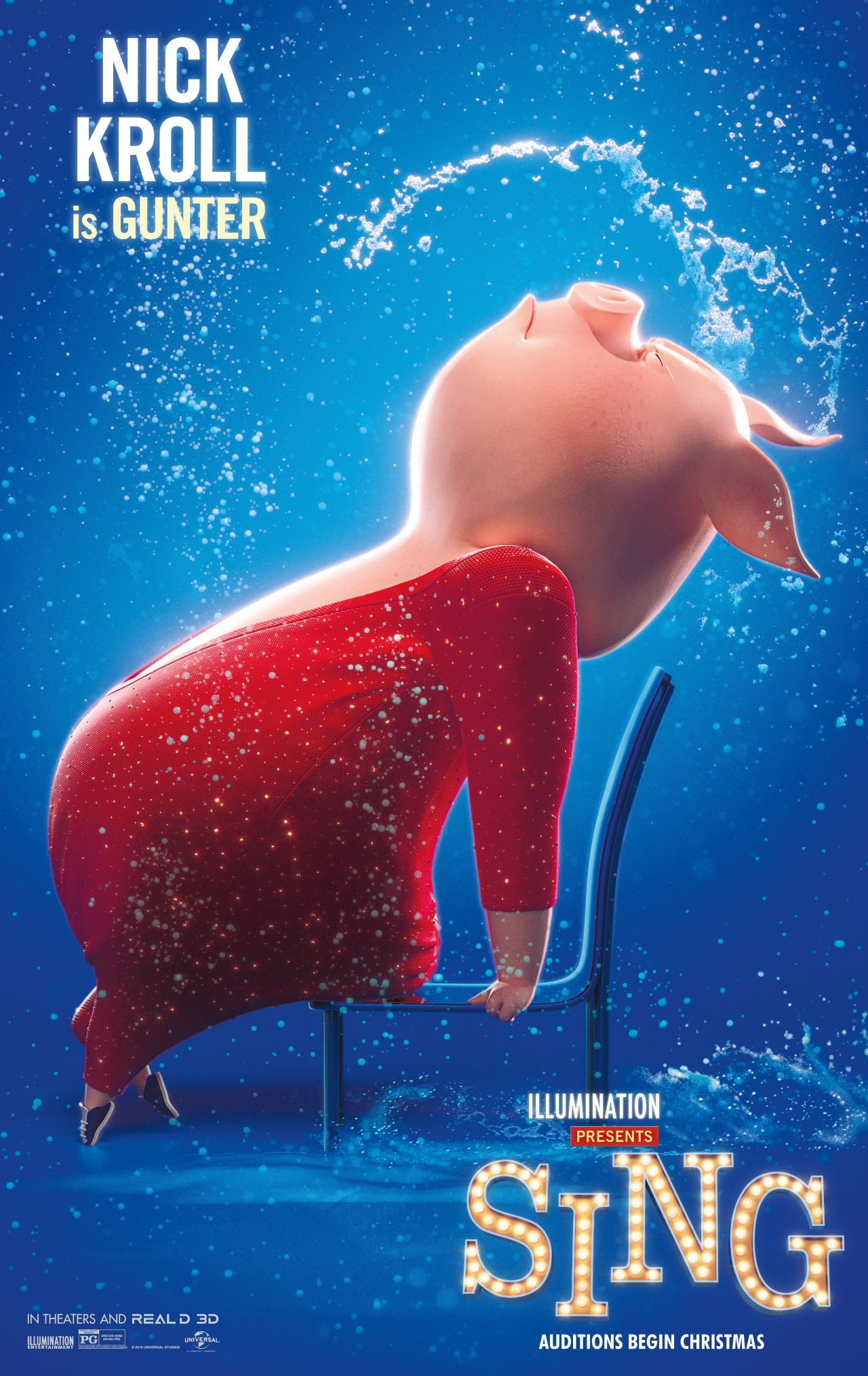 Sing: il character poster di Gunter