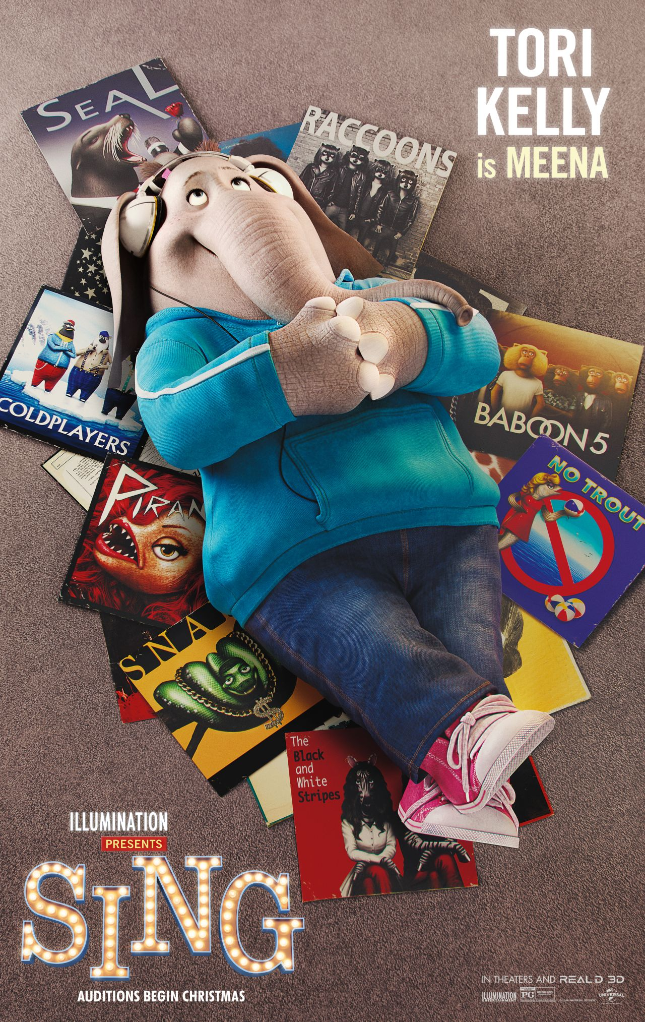 Sing: il character poster di Meena