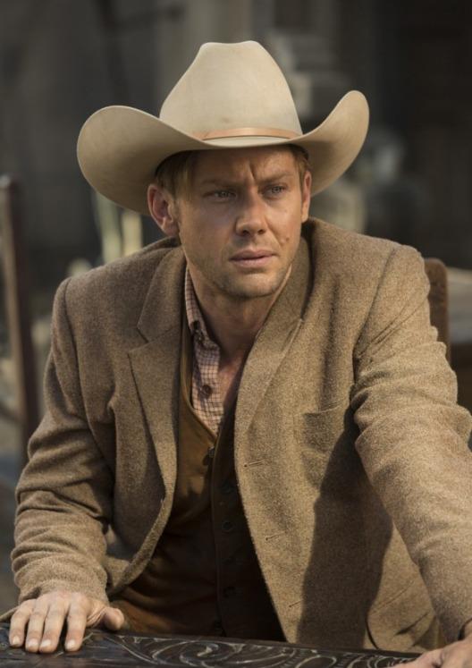 Westworld: l'attore Luke Hemsworth in una foto della puntata Contrapasso